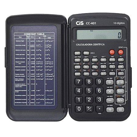 Calculadora CIS Cientifica com Capa 10 Dígitos C-401