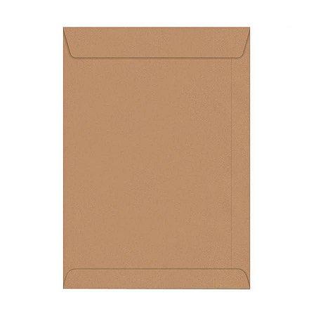 Envelope Kraft Scrity Natural 240mm x 340mm - 80g Embalagem com 100 Unidades