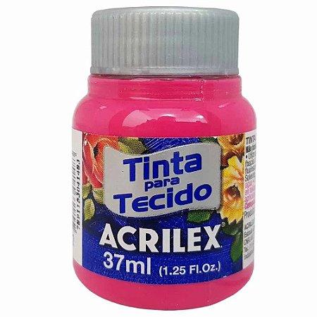 Tinta para Tecido Acrilex 37ml Rosa 537