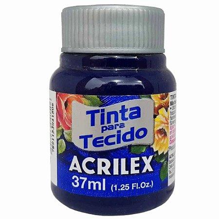 Tinta para Tecido Acrilex 37ml Azul Marinho 544