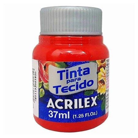 Tinta para Tecido Acrilex 37ml Vermelho Tomate 583