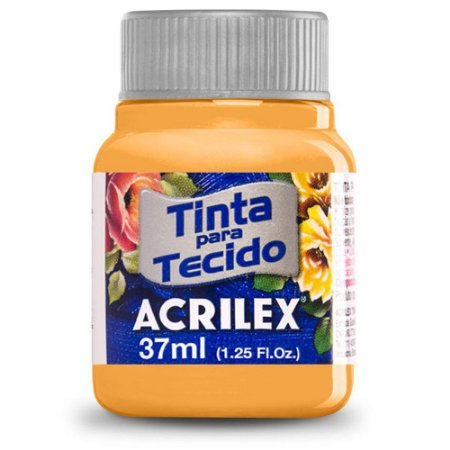 Tinta para Tecido Acrilex 37ml Ocre Ouro 573