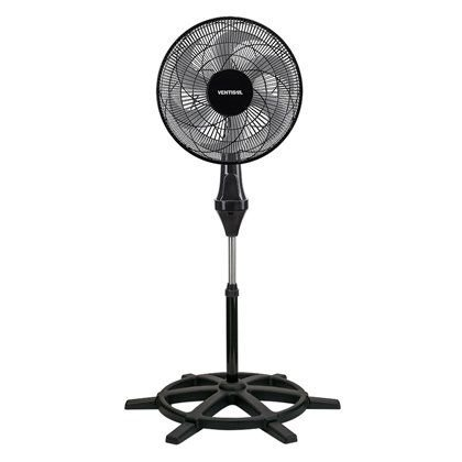 Ventilador Ventisol de Coluna 50cm Turbo Preto 6 Pás 110v
