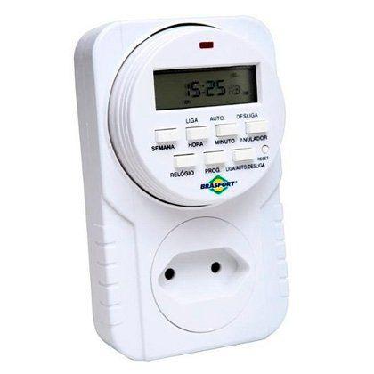 Timer Digital Brasfort 60hz Bivolt