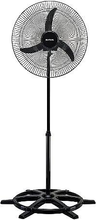 Ventilador de Coluna Ventisol Preto 60cm Bivolt 200W