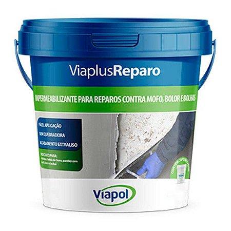 Impermeabilizante Viaplus Reparo Balde 12Kg