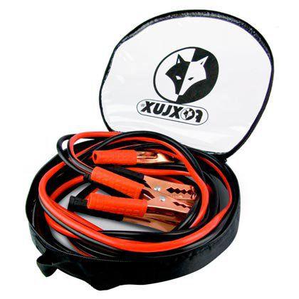 Cabo de Chupeta Foxlux Bateria 300A Com 3,5 Metros 10mm Espessura