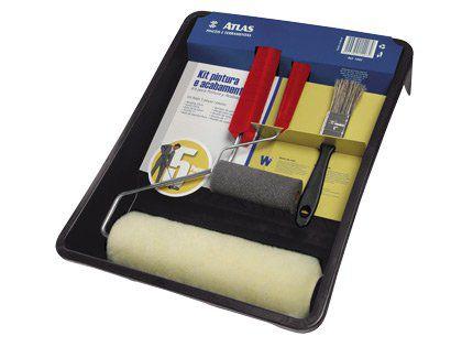 Kit Pintura Atlas 1002 05 Peças Pacote com 06 Kits