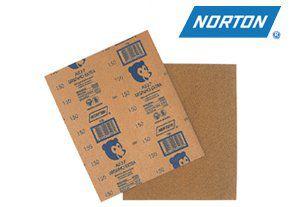 Lixa para Madeira Grão 180 Norton T237 Pacote com 50 Folhas