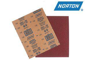 Lixa para Massa Parede/Drywall Grão 100 Norton A257 Pacote com 50 Folhas