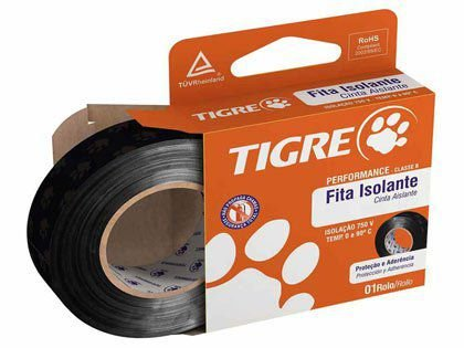 Fita Isolante Tigre Performance 19mm x 5m