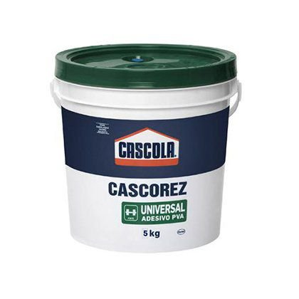 Cola Adesiva Branca Cascorez  Henkel Universal  Balde 5Kg