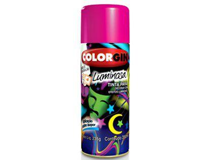 Tinta Spray Colorgin 757 Luminoso Azul