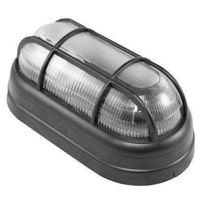 Luminária Tartaruga Bemplas Preto com Grade