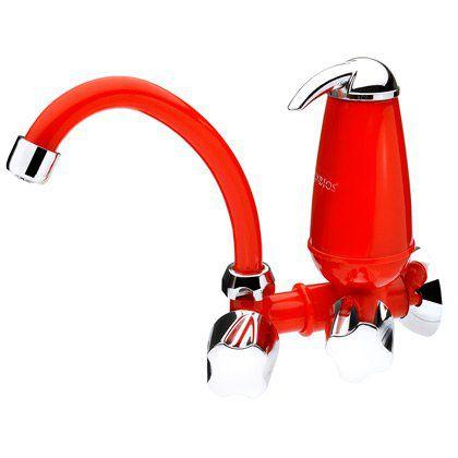Torneira com Filtro Acquabios Acqua E05 Vermelha