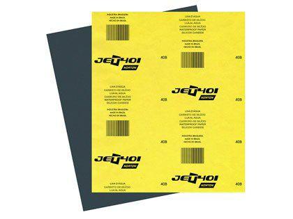 Lixa para Metal D'água Grão 1500 Norton T401 Pacote com 50 Folhas