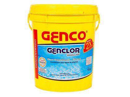 Cloro Granulado Estabilizado Dicloro Genclor 10Kg