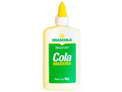 Cola para Madeira Brascola 90g com 12 Unidades