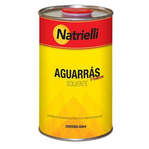 Aguarrás Natrielli 450ml Caixa com 12 Unidades