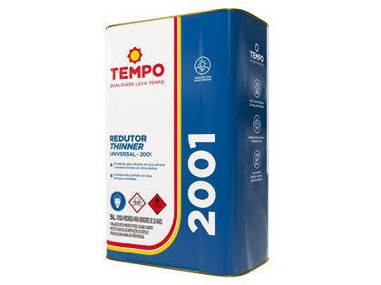 Redutor Thinner Tempo Universal 2001 05 Litros
