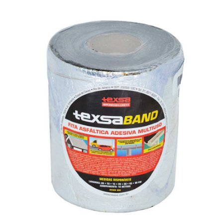 Fita Impermeabilizante Texsaband Alumínio 15cm Rolo 10 Metros