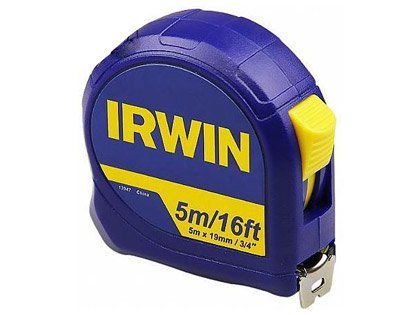 """Trena De Aço Irwin 05m x 19mm 3/4"""""""