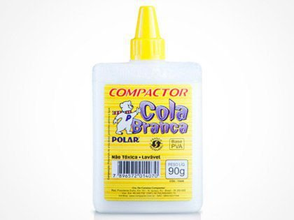 Cola Branca 90g Polar Caixa com 12 Unidades