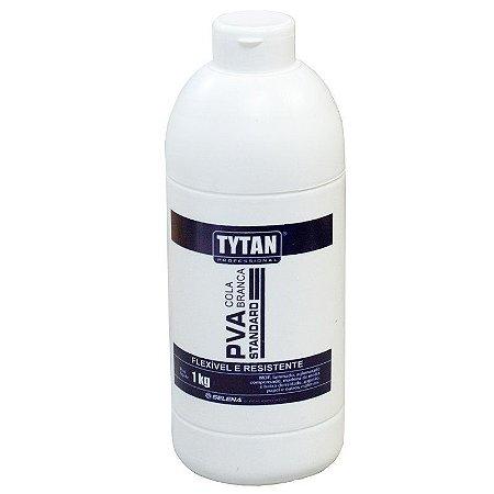 Cola Adesiva Branca PVA Tytan Standard 1Kg