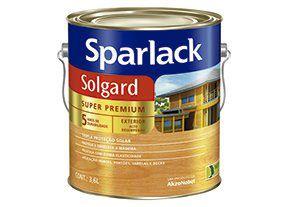 Verniz Sparlack Solgard Acetinado Natural Galão 3,6 Litros