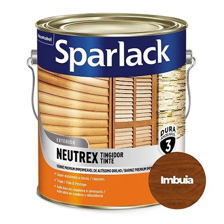 Verniz Sparlack Neutrex Brilhante Imbuía Galão 3,6 Litros