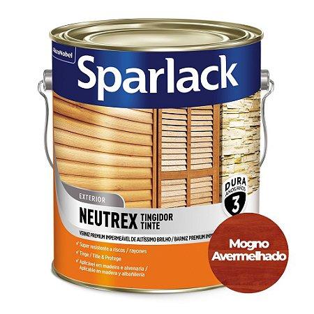 Verniz Sparlack Neutrex Brilhante Mogno Avermelhado Galão 3,6 Litros