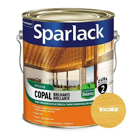 Verniz Sparlack Copal Balance Brilhante Transparente Galão 3,6 Litros