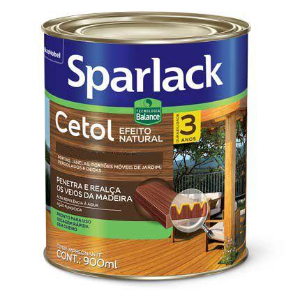 Verniz Cetol Sparlack Balance Acetinado Interior Natural 900ml