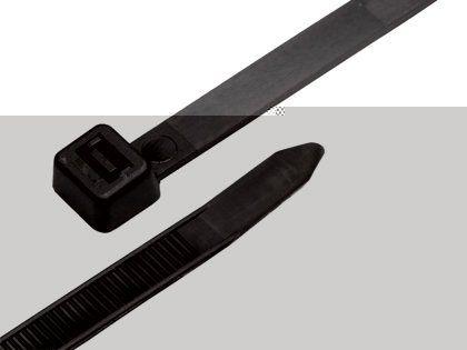 Abraçadeira de Nylon Tocha Preta 7,6mm x 50cm com 50 Unidades