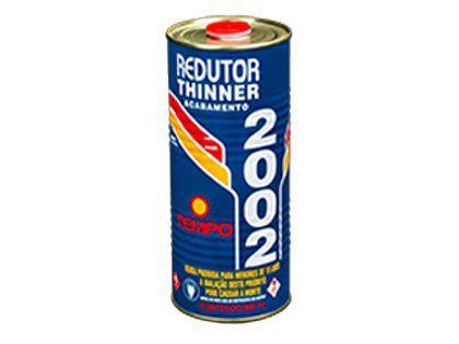 Redutor Thinner Tempo para Pintura 2002 900ml Caixa com 06 Unidades