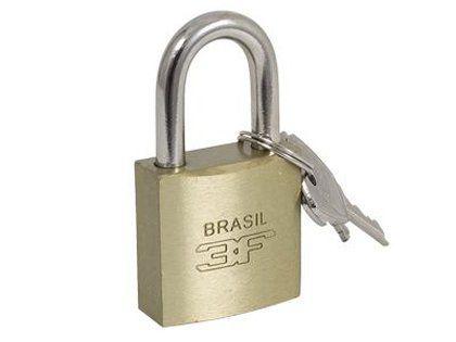 Cadeado Latonado 3F 45mm