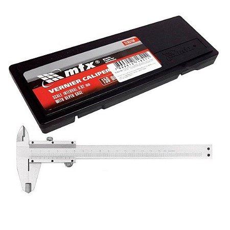 Paquímetro Analógico MTX de Aço 150mm