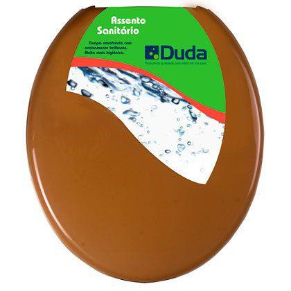 Assento Sanitário Duda Universal Mais Espuma Caramelo