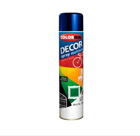 Tinta Spray Colorgin Decor 860 Azul Angra