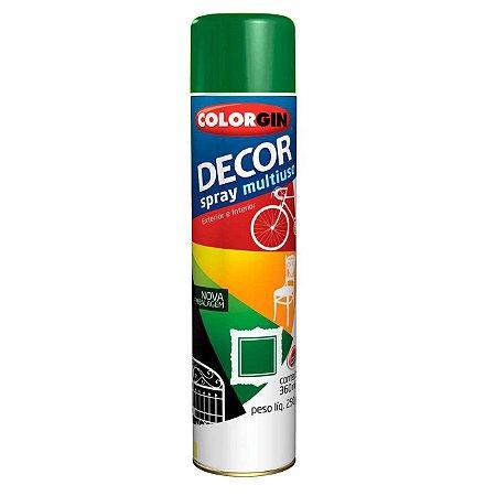 Tinta Spray Colorgin Decor 875 Verde Folha