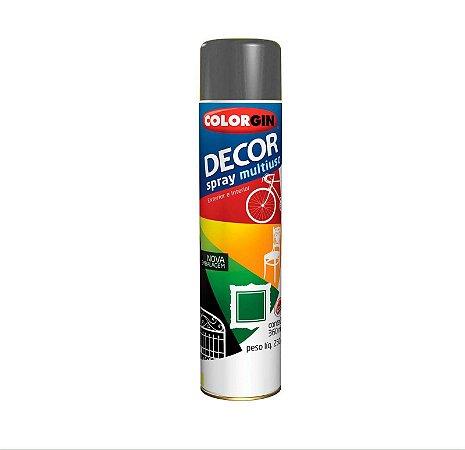 Tinta Spray Colorgin Decor 866 Grafite