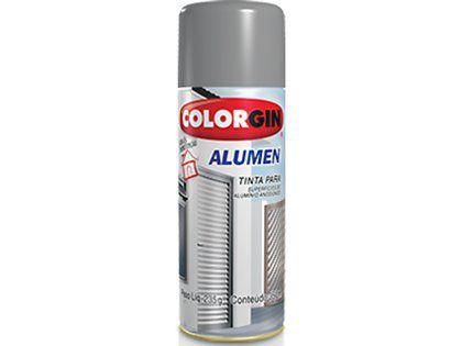 Tinta Spray Colorgin Alumen 770 Alumínio