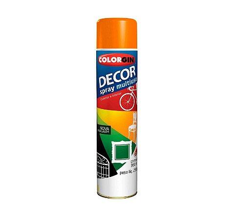 Tinta Spray Colorgin Decor 883 Laranja