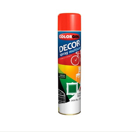 Tinta Spray Colorgin Decor 876 Vermelho