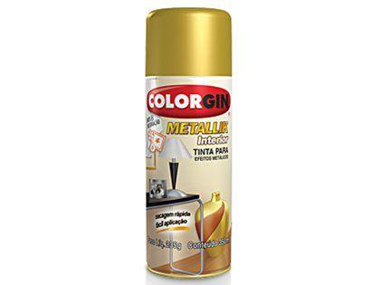 Tinta Spray Colorgin Metallik 052 Ouro
