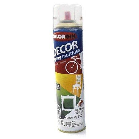 Tinta Spray Colorgin Decor Verniz 879