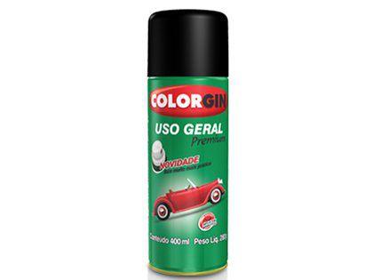 Tinta Spray Colorgin Uso Geral 200 Preto