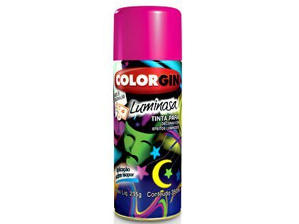 Spray Colorgin Luminosa 759 Laranja