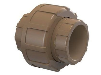 """União Soldável Tigre 1/2"""" ou 20mm Embalagem com 10 Unidades"""