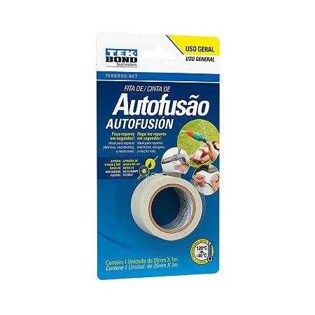 Fita Super Tape Tek Bond de Autofusão Uso Geral 25mm x 1m